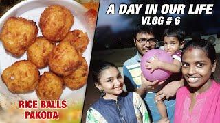 A Day in our Life | Vadagam Preparation | Rice Balls Pakoda Special Vlog #06 | Nan En Maganum