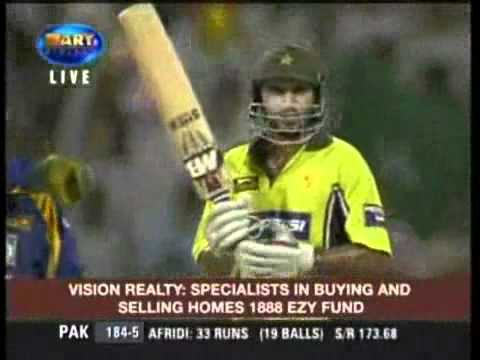 Shahid Afridi 6 Sixes In Over - Video.flv video