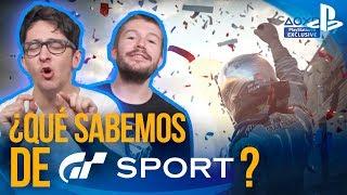 ¿QUÉ SABEMOS DE GT SPORT? + Todas las NOVEDADES de PS4