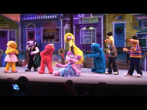 A Sesame Street Christmas Full Show, SeaWorld - With Elmo, Abby, Big Bird, Ernie & Bert