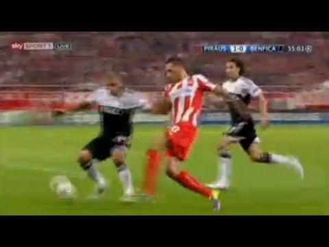 Olympiakos - Benfica Lisabon - ALL Goals All Highlights - 05.11.2013 Champions League