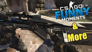 NEW AWP SKIN?!?- CS GO Funny Moments & More in Competitive
