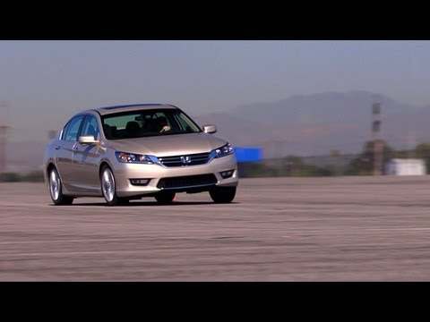 Track Tested: 2013 Honda Accord EX -- Edmunds.com Video