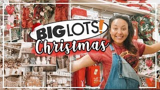 BIG LOTS SHOP WITH ME 2018 | SHOPPING FOR CHRISTMAS DECOR AT BIG LOTS! | Page Danielle