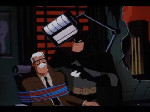 Batman and gordon vs. Joker and Harley