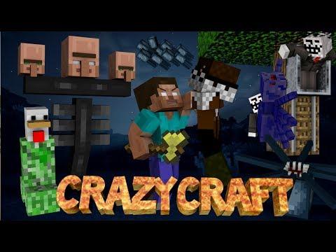 Minecraft: CrazyCraft Mod Pack - BRAD THE UNICORN RAPIST!