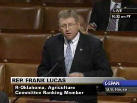 Rep. Lucas Closing Speech on the House Floor Highlighting Harm of Cap-and-Trade