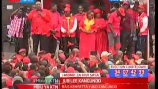 Rais Uhuru ahutubia wananchi wa Kangundo