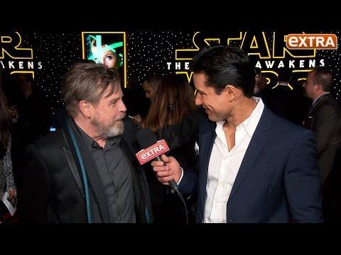 'Star Wars' Premiere: Mark Hamill on the Secrecy Surrounding Luke Skywalker