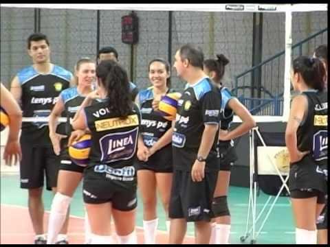 Equipe de vôlei do Paia fizeram primeiro trabalho com a equipe completa