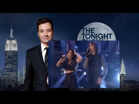 Demi Lovato & Cheat Codes - No Promises (Live at Jimmy Fallon - The Tonight Show)