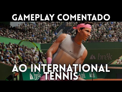 Gameplay Español AO INTERNATIONAL TENNIS - El Retorno Del Tenis A PS4(Pro), Xbox One(X) Y PC (Steam)