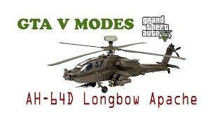 GTA V Mods AH-64D Longbow Apache