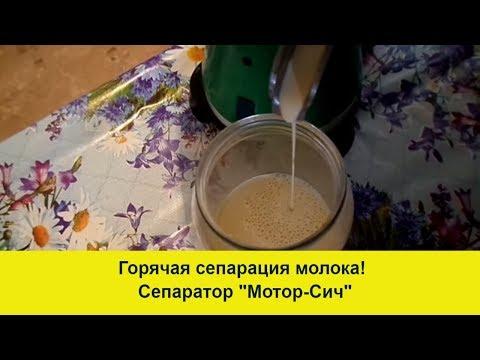 Как сделать масло из молока в сепараторе