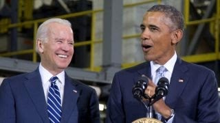 President Obama, Vice President Biden stump for Clinton
