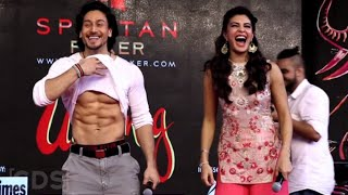 Flying Jatt Promotions || Umang NM College 2016 || Tiger Shroff And Jacqueline Fernandez