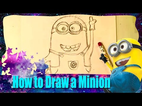 How To Draw A Minion video