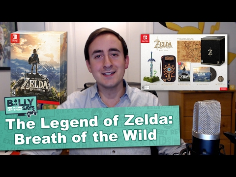 Legend of Zelda Breath of the Wild Everything You Need to Know - Billy Says
