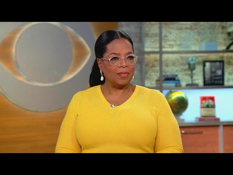 Oprah Winfrey on exhibit featuring her groundbreaking show