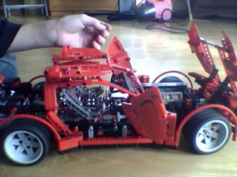 Lego supercar, обзор