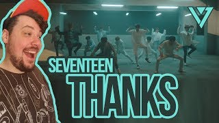 Mikey Reacts to SEVENTEEN 'Thanks'