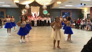 Alyssa's Quinceañera surprise dance