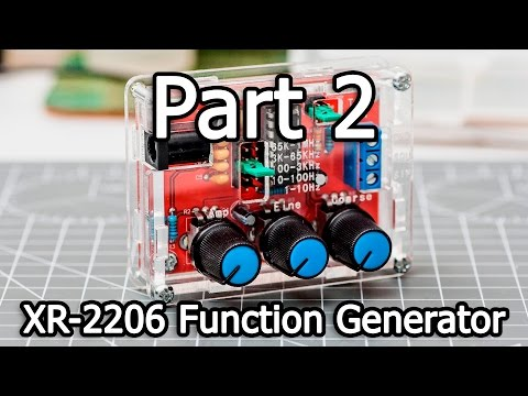 XR-2206 Function Generator DIY Kit - Part 2/4 - Soldering