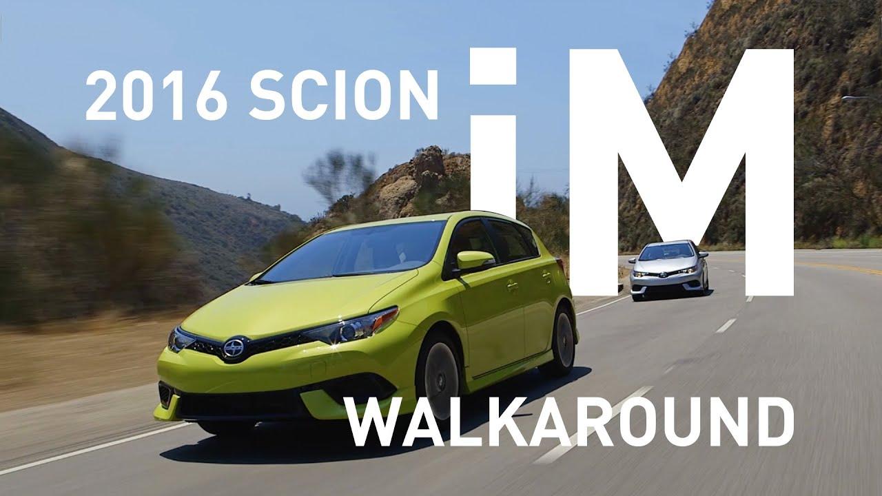 2016 Scion iM Hatchback Walkaround (Scion) - YouTube