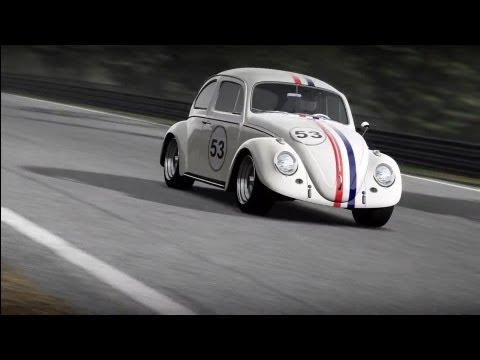 Forza 4 Herbie VW Beetle Engine Swap Test