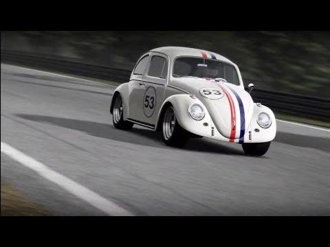 Forza 4 Herbie VW Beetle Engine Swap Test