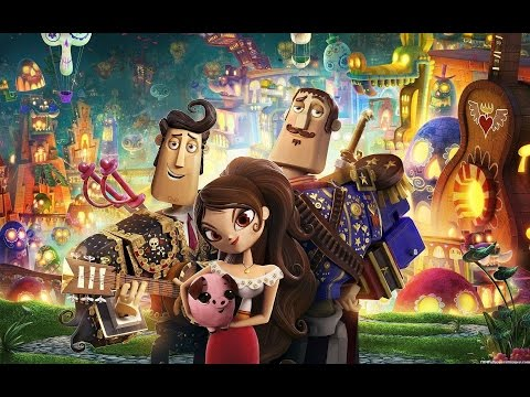 The Book of Life (Starring Zoe Saldana) Movie Review