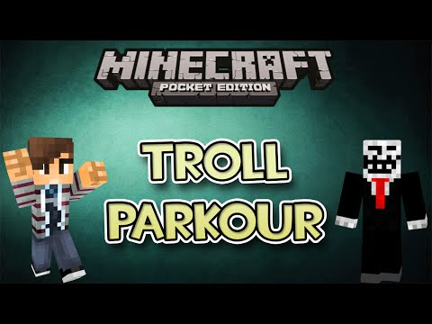 Minecraft PE PARKOUR DEL TROLL