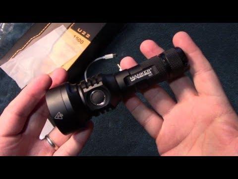 Manker U22 Flashlight Review!