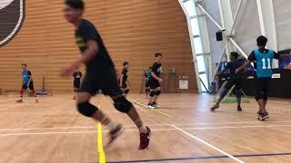 Tchoukball RP Cup 2017 Team Rojak vs Freakshow