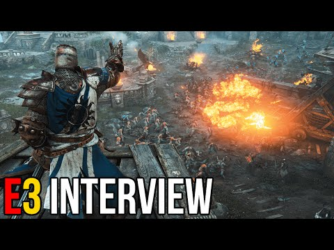 For Honor Will Have a Single Player Campaign - E3 2015 Interview