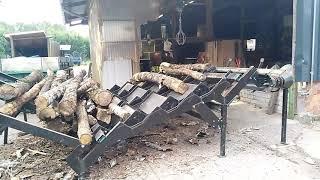 Brennholzherstellung mit unserer Technik
