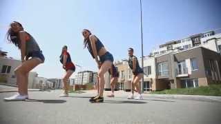 QQ-Tip Pon Yuh Toe! CCT Forma! Booty dance,Dancehall! Yana Medvedchuk!!