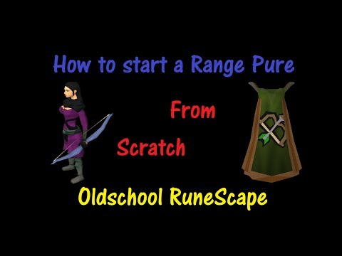 Old School RS – How to start a Range Pure from ZERO (1M+ Profit)
