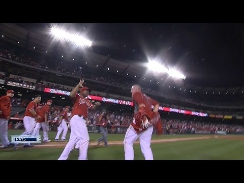 Mike Trout clobbers 3-run walk-off HR to beat Rays
