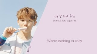 SEVENTEEN (???) - Woozi solo (??) - SIMPLE (Color coded Han/Rom/Eng) lyrics