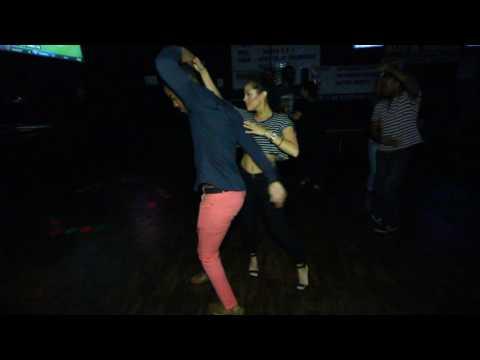 Jariel Garcia y Vanessa Villalobos -- Salsa
