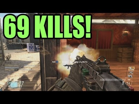 69 KILLS SHOTGUN- Black Ops 2 