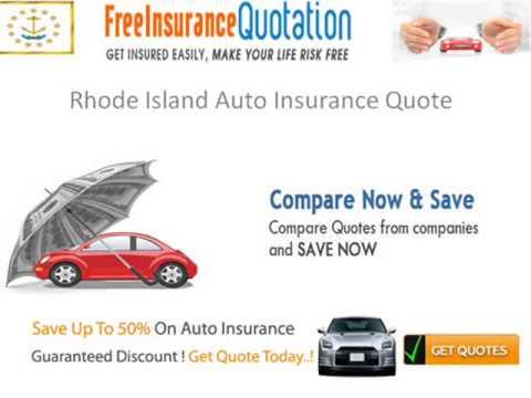 Rhode Island Car Insurance Requirements