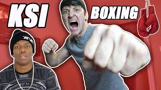 I want to fight KSI and Logan Paul