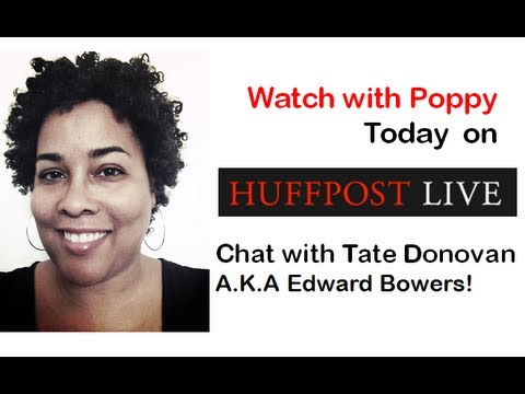 Watch with Poppy Live chat with Tate Donovan!!!