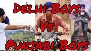 Delhi Boys vs Punjab Boys | Creative Vision | Funny Video