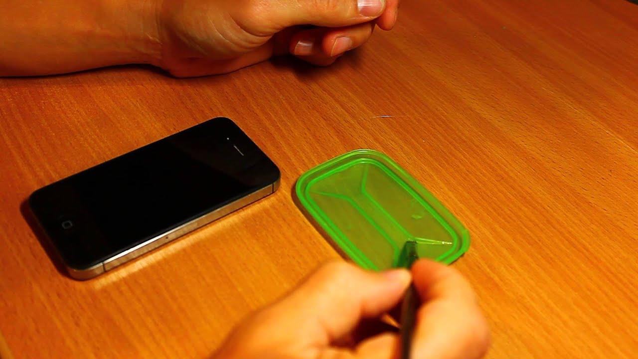 Как открыть iPhone (айфон) 23