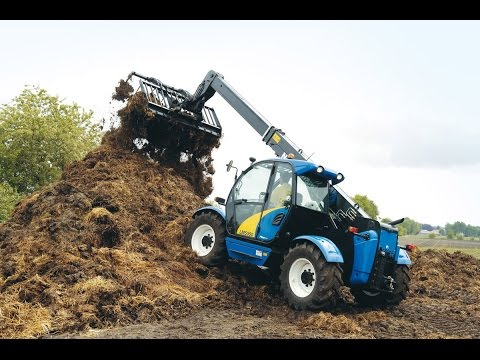 New Holland LM 5060 - test drive