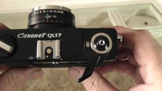 Canon Canonet QL17 GIII 35mm Film Camera Overview / Review