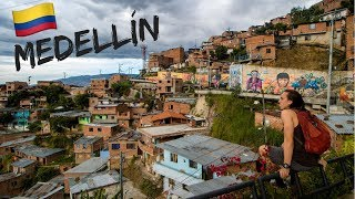 MEDELLÍN, COLOMBIA : Visiting the most dangerous area + Volunteering with local kids